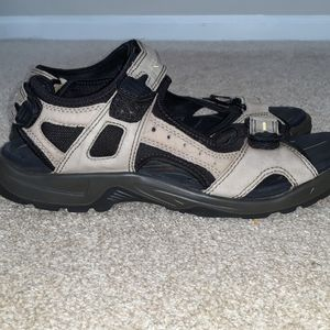 ECCO leather hiking sandals